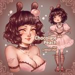 [CLOSED] Chocolate Peach Adopt
