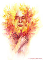 The essence of Fire by bloomingavalon