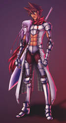 Calisto - The Kabuki Knight by JMayura
