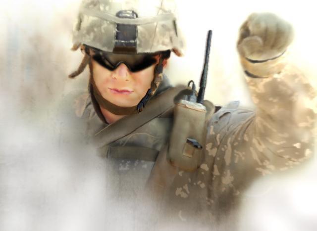 soldier by VprNL