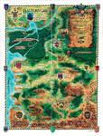 Baldur's Gate World Map - Whole by Shade-os
