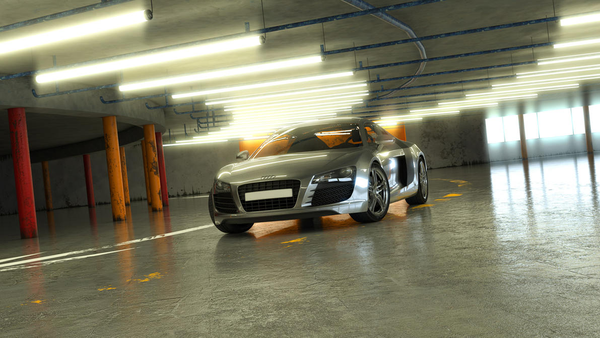 Audi R8 by mrhahn98