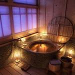 Bathroom scene - Night time