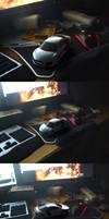 Audi R8 table render