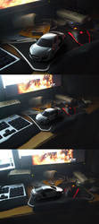 Audi R8 table render by mrhahn98