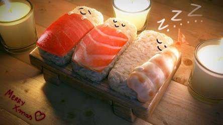Sushi Christmas