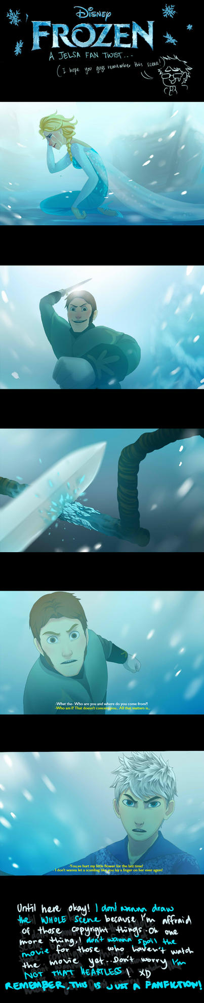 Frozen (jelsa fan plot twist!) by ziqman