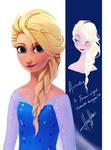 Elsa's New Hairdo...