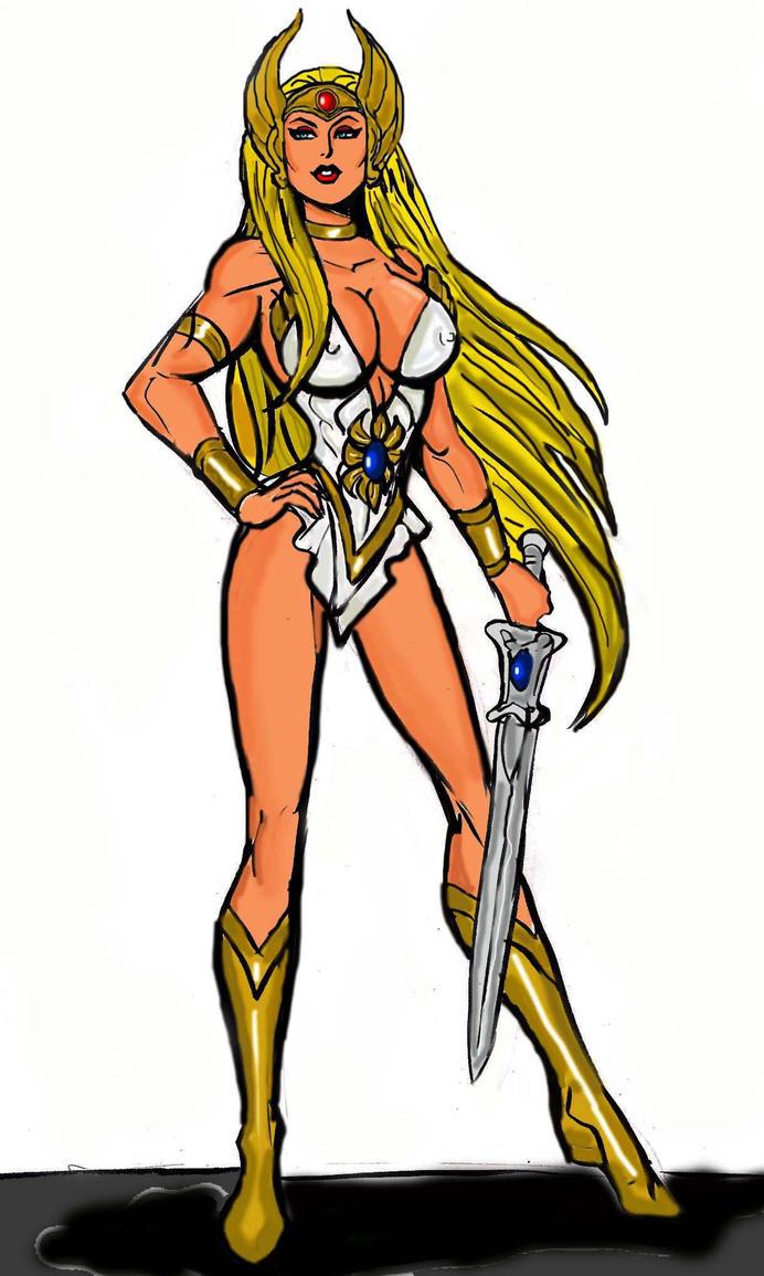 She Ra Princess of Power by johnnyharadrim