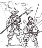 The dreaded Tercios by johnnyharadrim