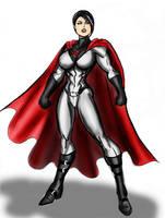 Soviet Superwoman by johnnyharadrim