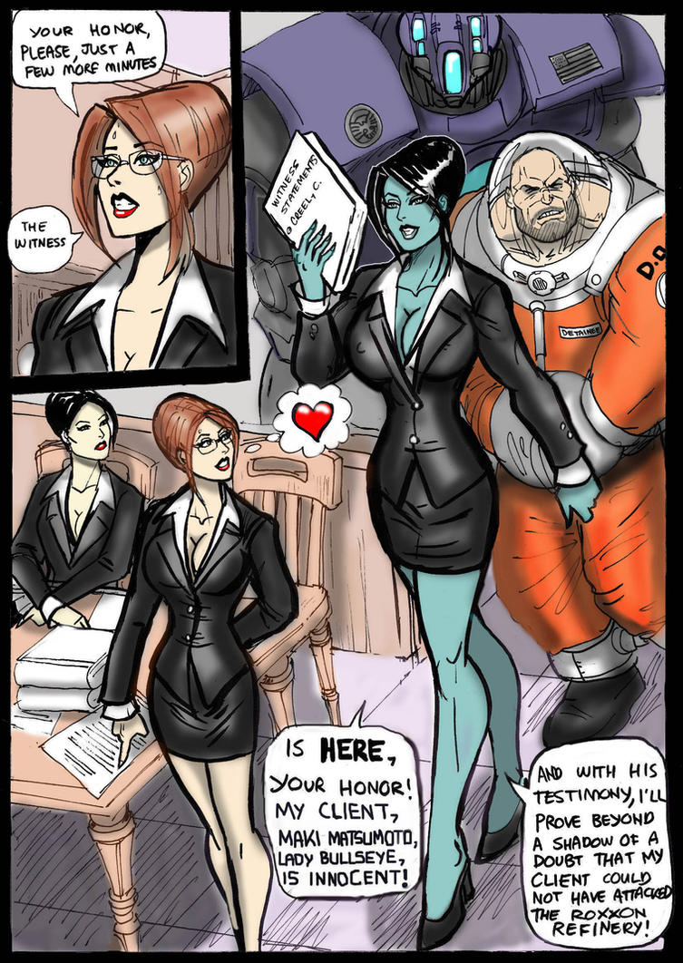 Day In Court 5 by johnnyharadrim
