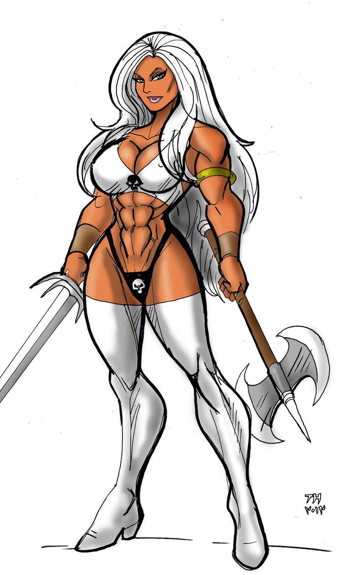 Warrior Queen by johnnyharadrim