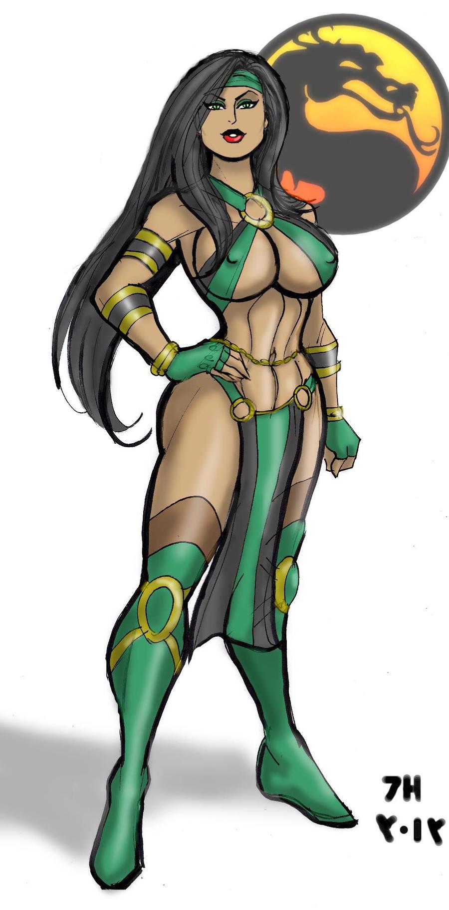 Jade Mortal Kombat by johnnyharadrim