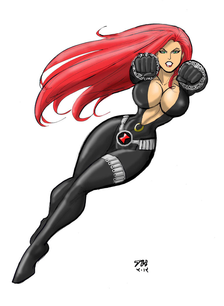 Cartoon sex black widow porn tube