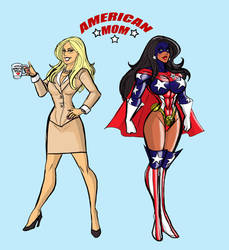 Carol Anne Marshall alias American Mom Bio by johnnyharadrim