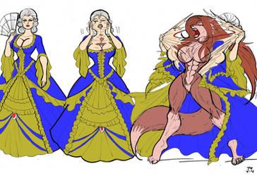 Lupine Lady by johnnyharadrim
