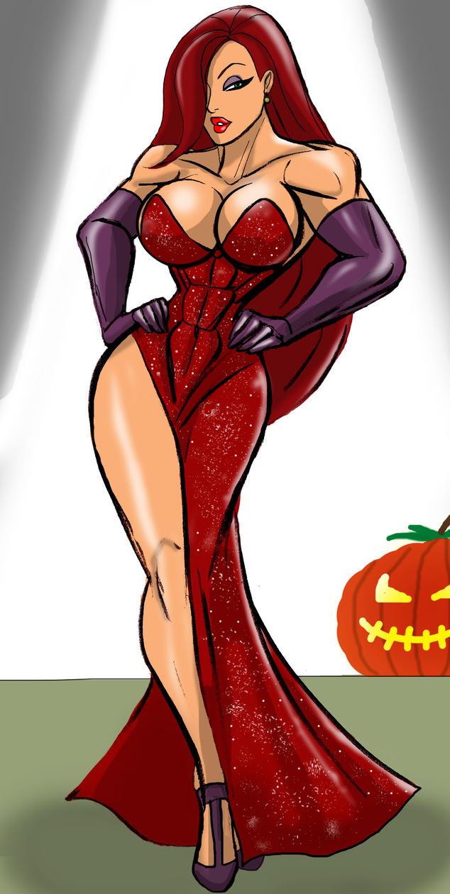Halloween Artjam Jessica Walkiriabbit by johnnyharadrim
