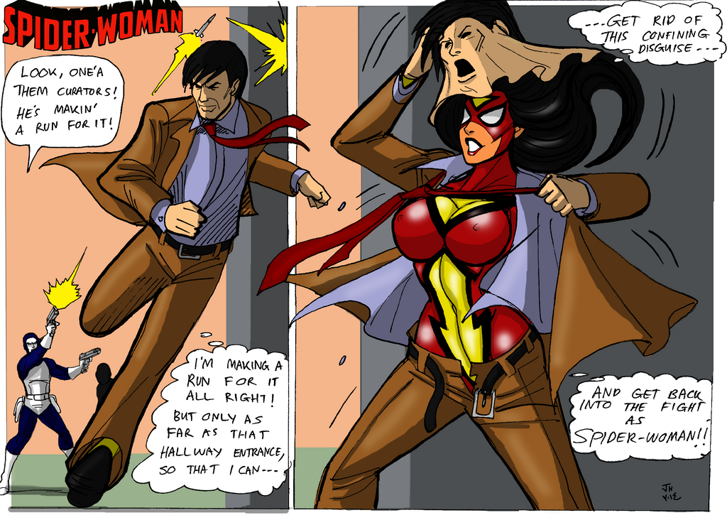 Old captain marvel hentai comic a vs x