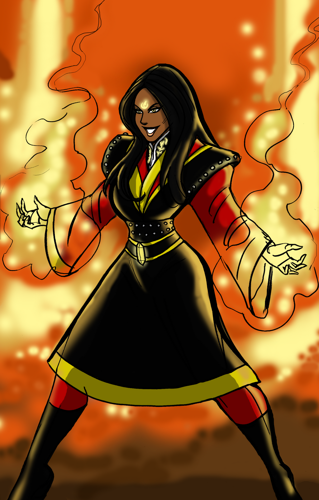 Azula of the Fire Nation by johnnyharadrim on DeviantArt