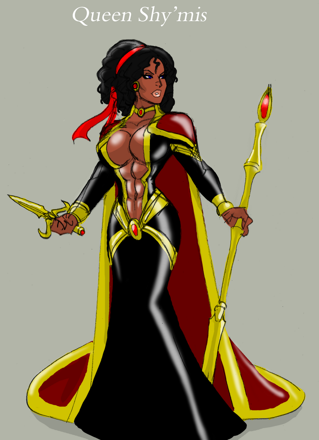 Queen Shymis by johnnyharadrim
