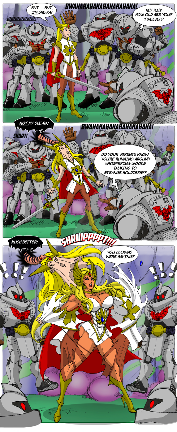 Will the real She-Ra please stand up? by johnnyharadrim on DeviantArt