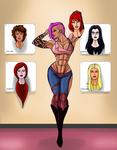 Zarana and the Women of GI Joe?