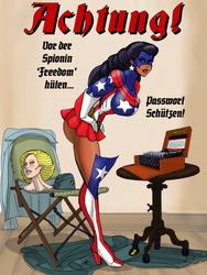 Freedom und Enigma chiffrier maschine by johnnyharadrim