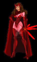 Scarlet Witch by johnnyharadrim