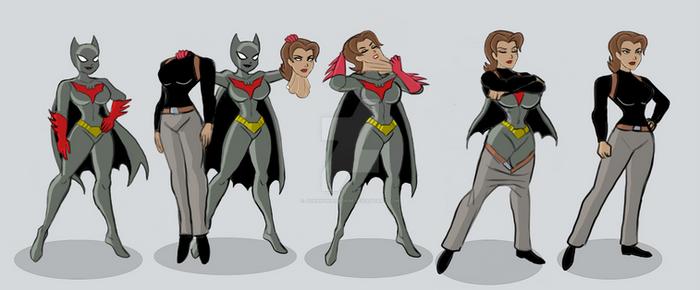 Batwoman to Sonia Masking Up