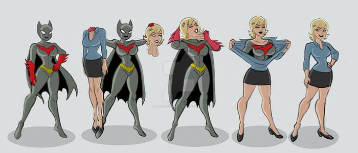 Batwoman to Rocky masking up