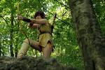 Strongbow Cosplay (Elfquest) by WaldelfLarian