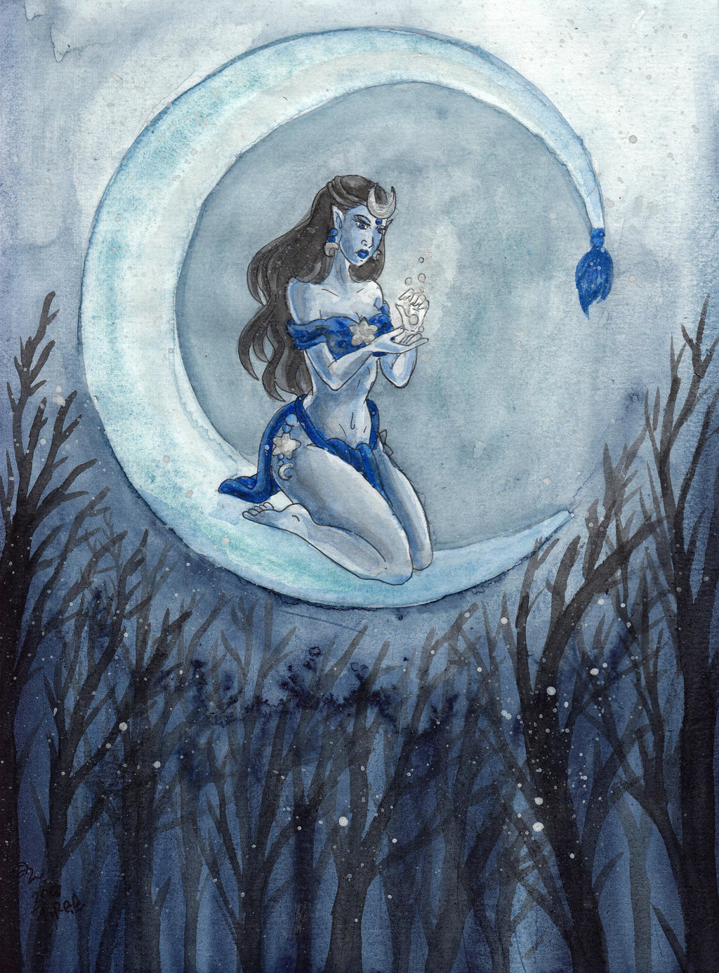 Moonqueen by WaldelfLarian