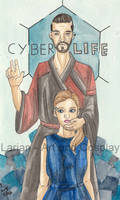 Detroitober Day 8 CyberLife by WaldelfLarian