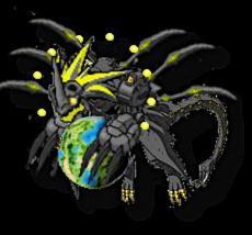 Gaiamon? by Crimsoneye452