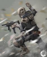 United Kingdom: Sci Fi Soldier by DoefCrew
