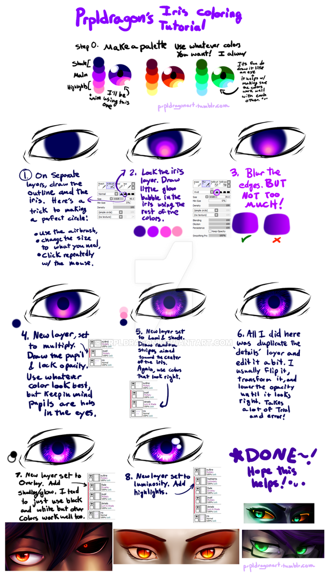 how to draw eyes firealpaca