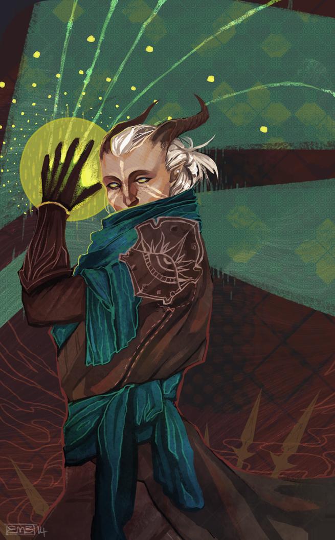 DA: Inquisitor Adaar by Vaahlkult