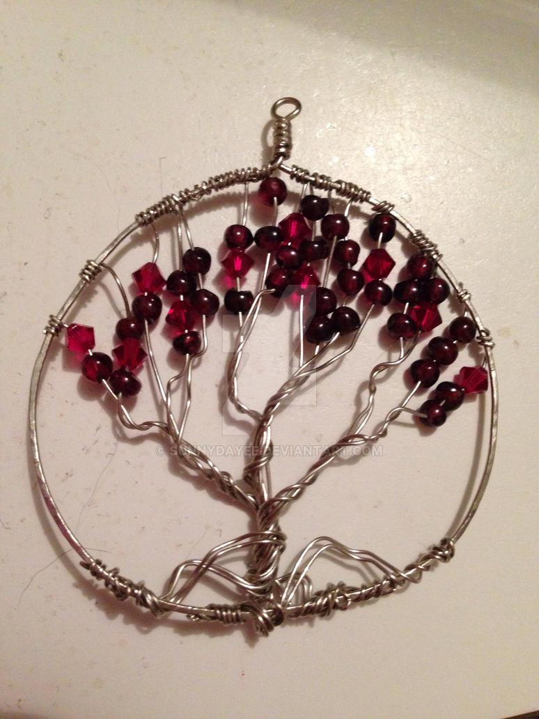 Tree pendant by SunnyDayee