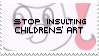 stop it - stamp by amnesiacthief