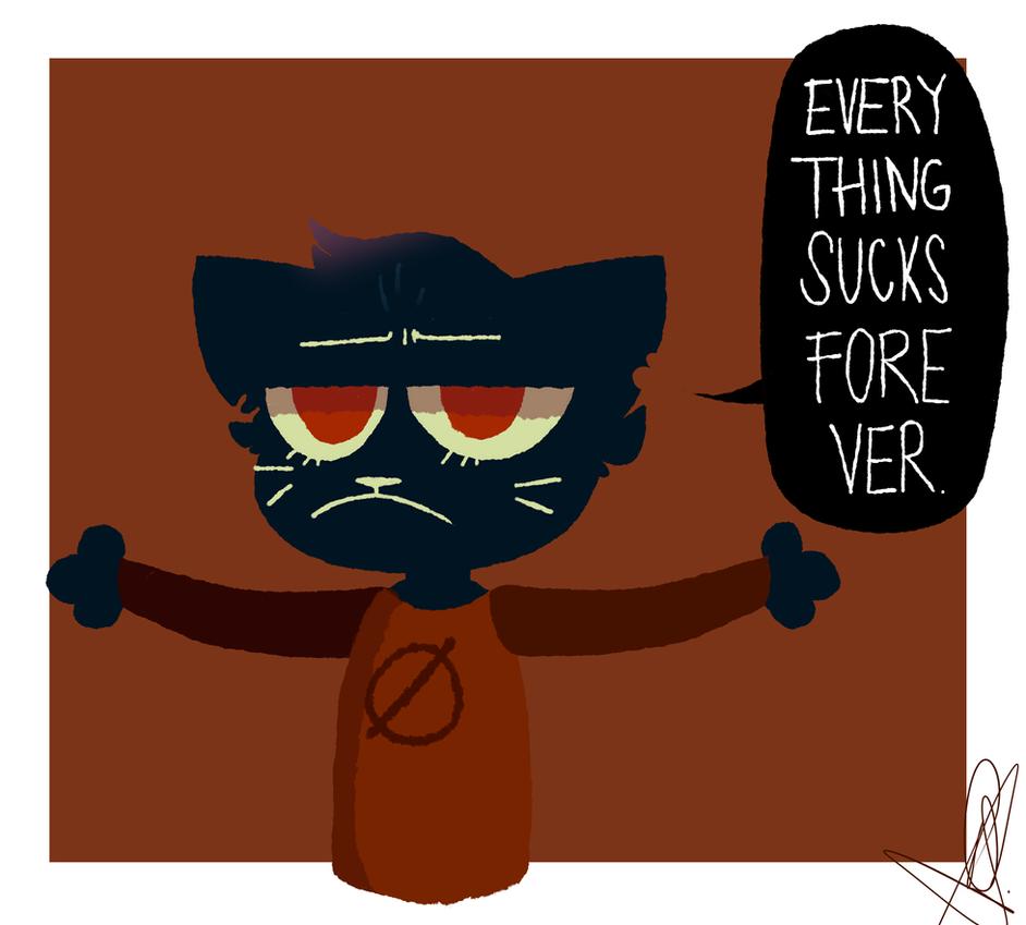 EVERYTHING SUCKS FOREVER -fanart- by EmmixArt