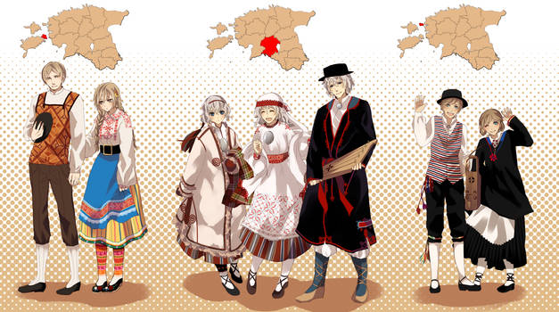 HetaEst: Folk costumes - part 2