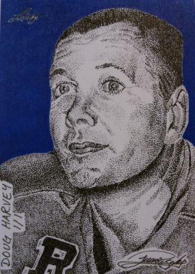 Doug Harvey by JRosales1