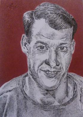 Gordie Howe by JRosales1