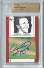 Johnny Manziel Leaf Trading Cards Redemption #8 by JRosales1