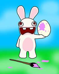 Bunnies Can't Paint Eggs