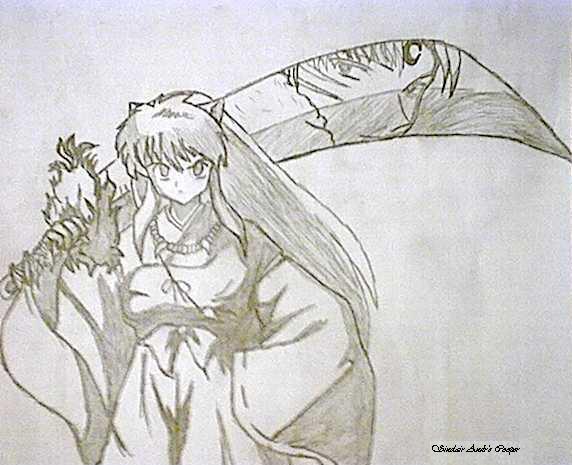 Inuyasha Sword By Sephirothsilver On Deviantart
