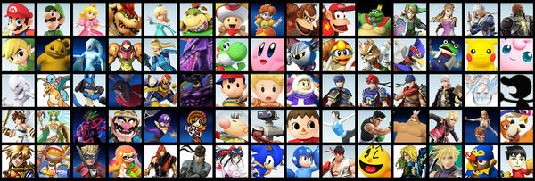 The most perfect smash bros roster ever!