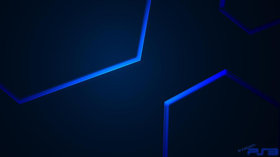 PS3 Blu Hex Wallpaper by EffECKTz on DeviantArt