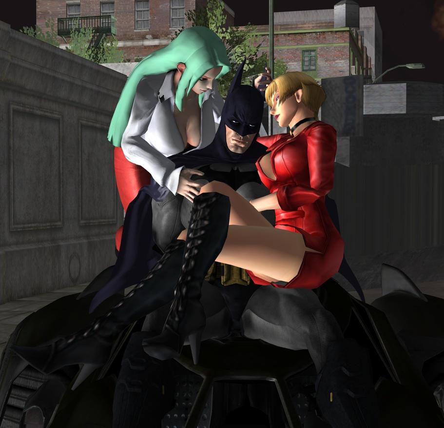 Batman en problemas XD by RyuAensland